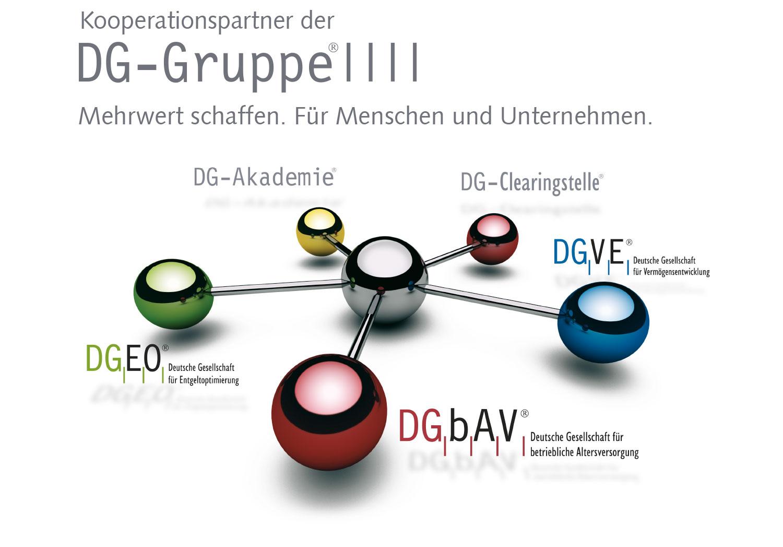 Übersicht DG Gruppe als Kooperation